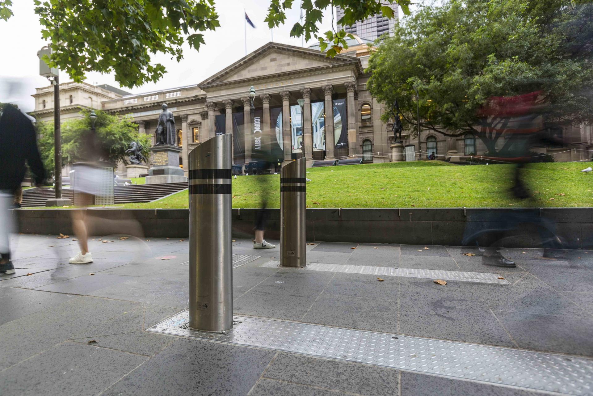 Security upgrades continue across Melbourne CBD